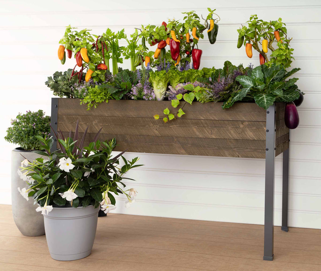 "Elevated Spruce Planter (21"" x 47"" x 30""H)"