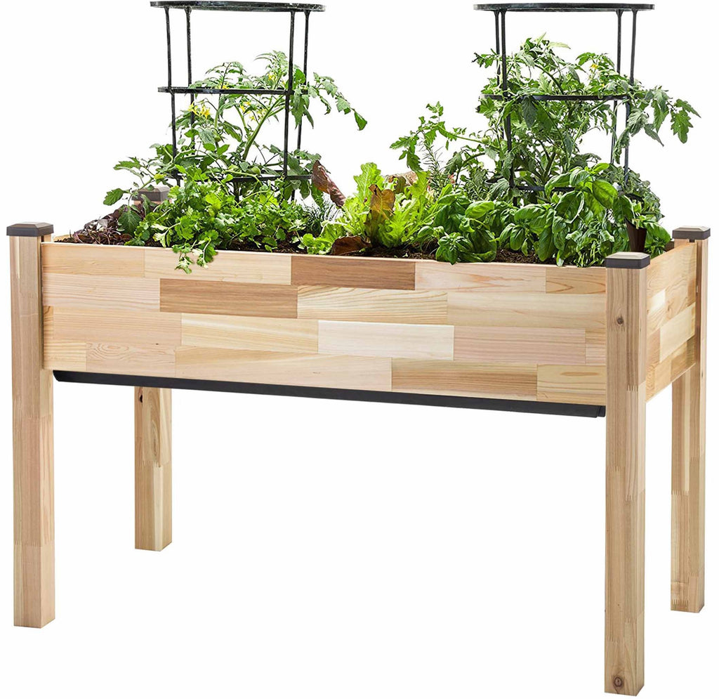 "Self-Watering Cedar Planter (23"" x 49"" x 30""H)"