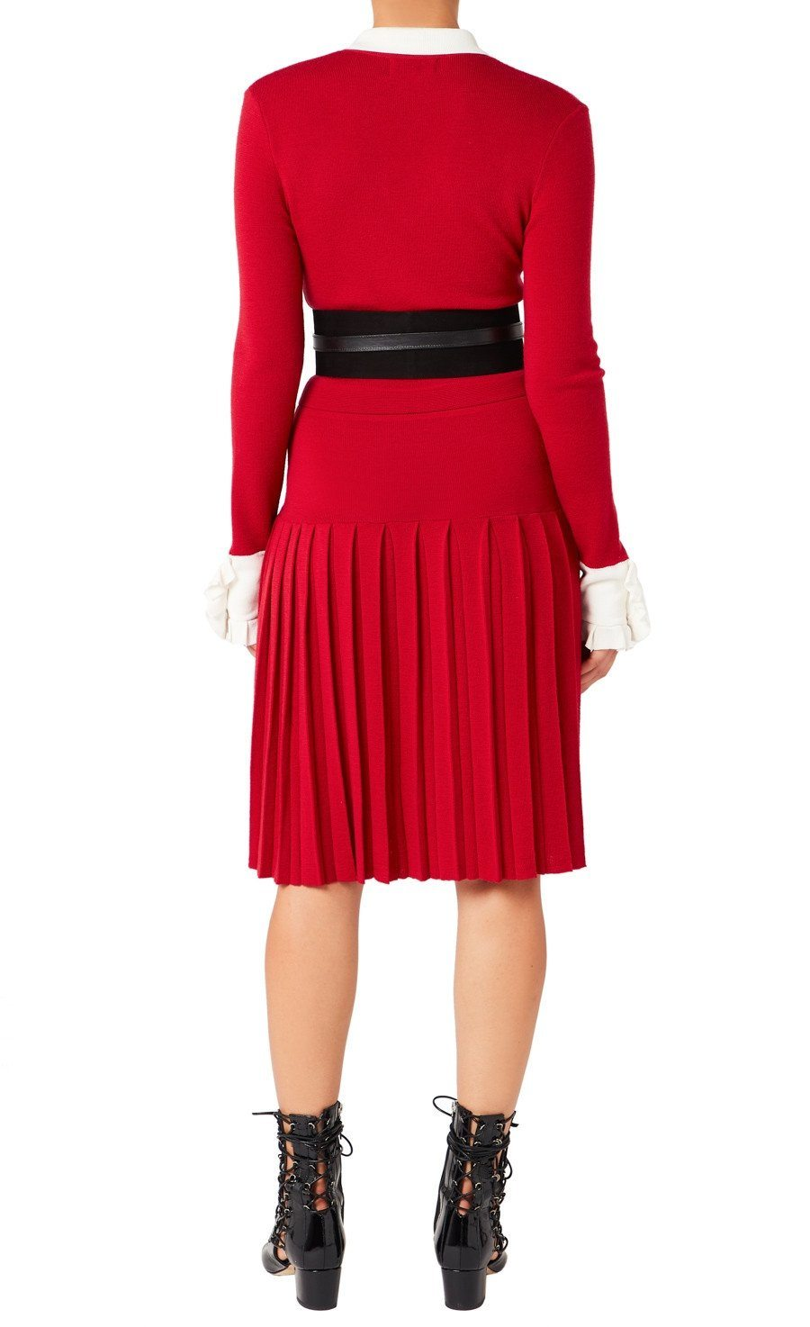 ELSIE PLEATED DRESS