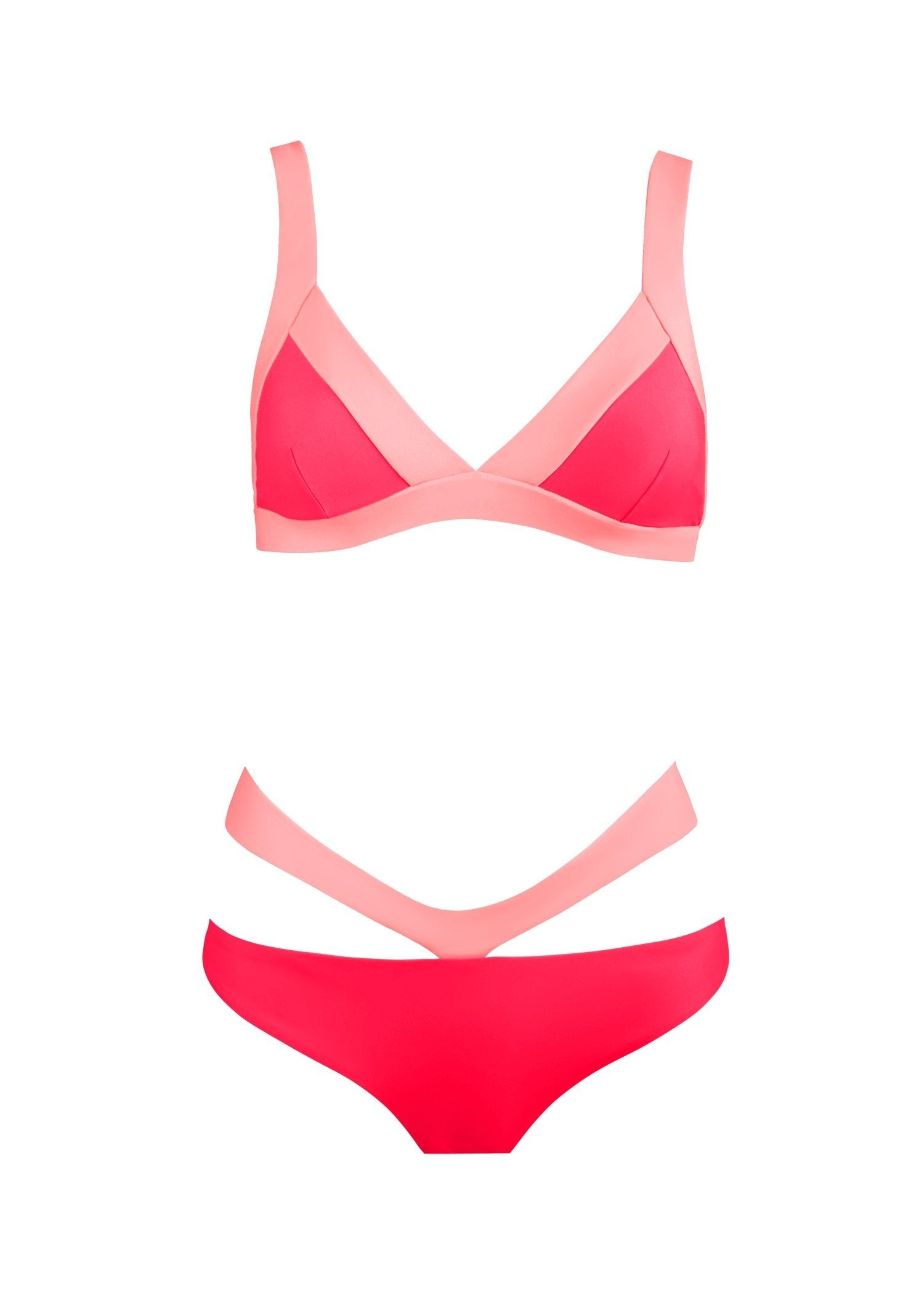 BIKINI TWO-TONE  V-BELT SET