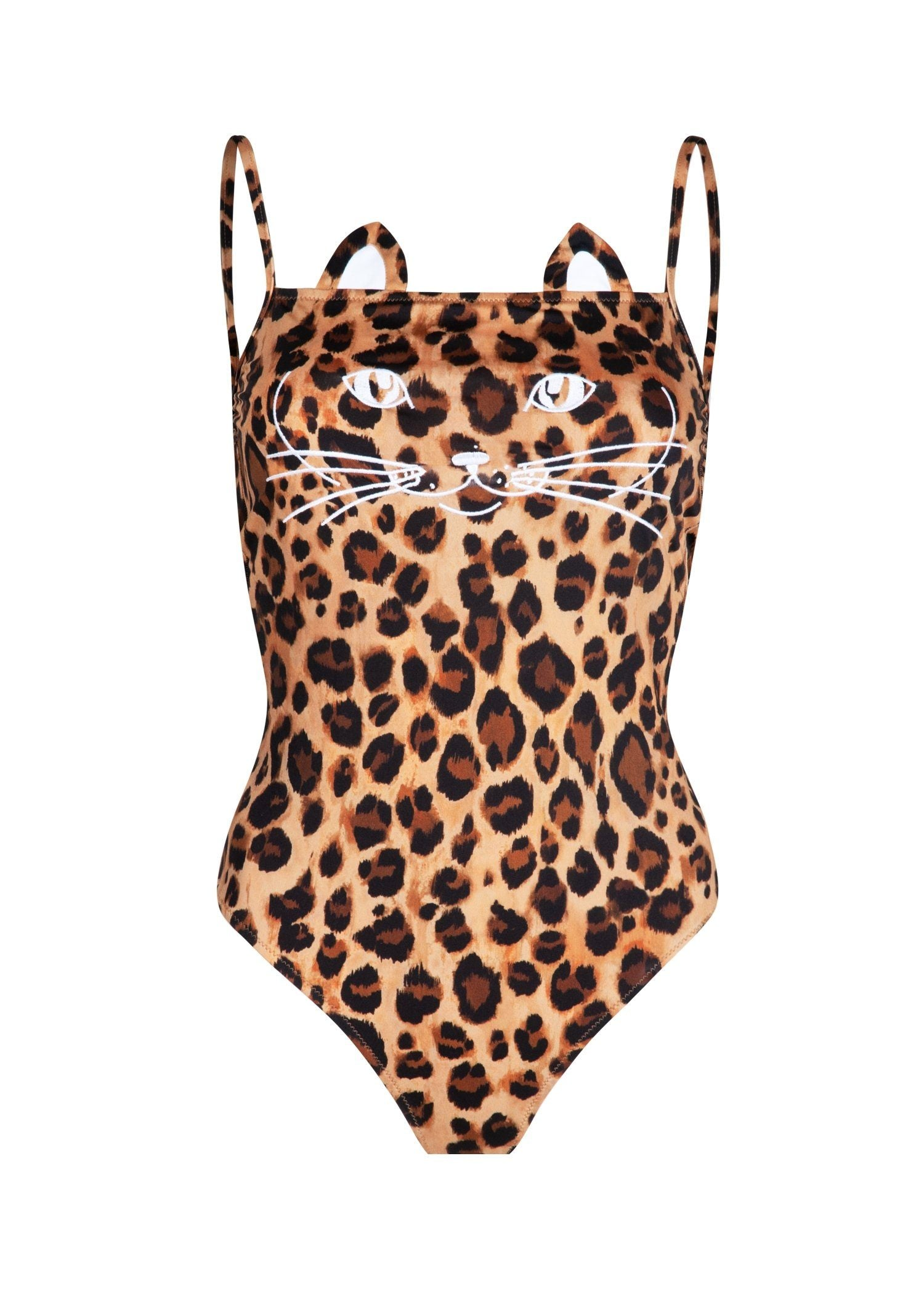 LEOPARD-ONE-PIECE CAT FACE