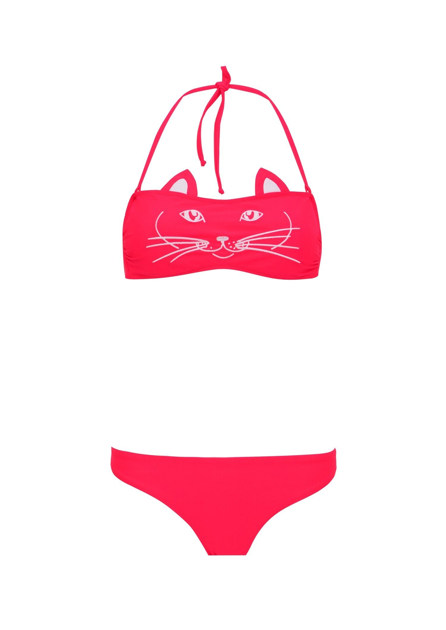 BIKINI SET CAT FACE KIDS