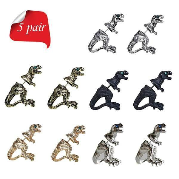 T-Rex Dinosaur Earrings