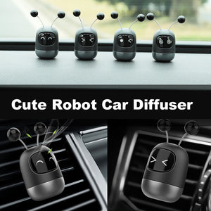 Car Perfume Air Freshener Cute Robot Car Diffuser