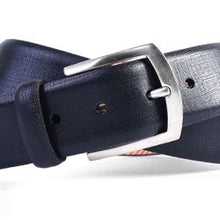Load image into Gallery viewer, REDFORD MICRO GRID ITALIAN SADDLE LEATHER BELT