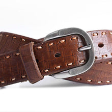 Load image into Gallery viewer, ARTISAN LACE ITALIAN BRIDLE LEATHER BELT