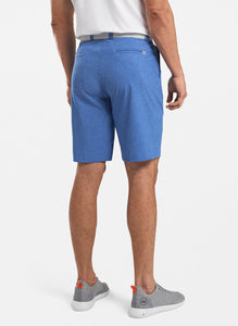SHACKLEFORD MELANGE PERFORMANCE SHORT