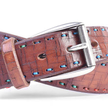 Load image into Gallery viewer, ARTISAN MULTI ITALIAN BRIDLE LEATHER BELT