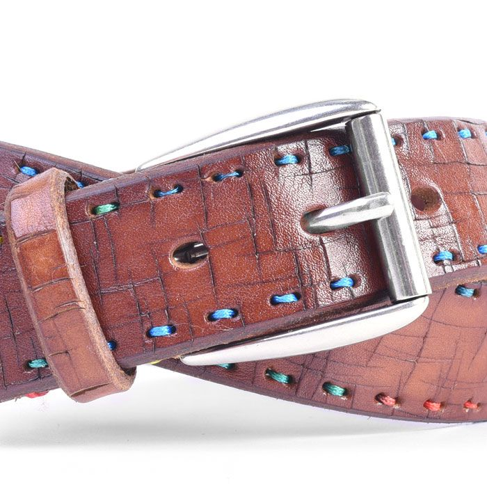 ARTISAN MULTI ITALIAN BRIDLE LEATHER BELT