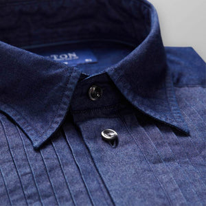 DENIM EVENING SHIRT