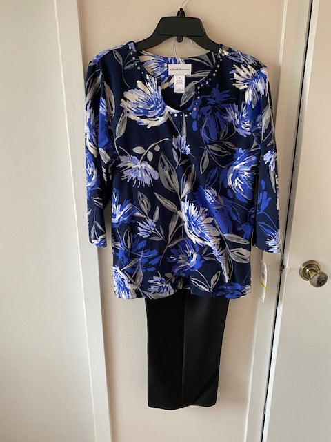 05156 Multi-Color Top by Alfred Dunner - Mary Ann's Shoppe