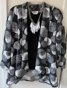 Circle Jacket by All Hours - Mary Ann's Shoppe