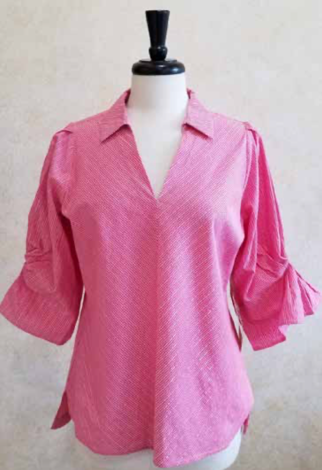 S2013 Full Sleeve Blouse - Mary Ann's Shoppe