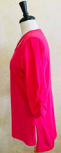 Load image into Gallery viewer, S2039 Blouse in Coral - Mary Ann's Shoppe