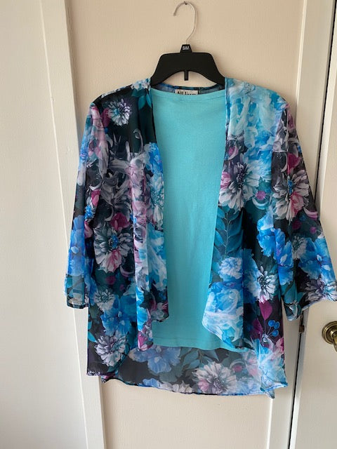 062-798 Sheer Jacket by Style-Rite - Mary Ann's Shoppe