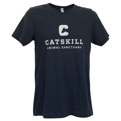 T-Shirt Logo Heather Navy