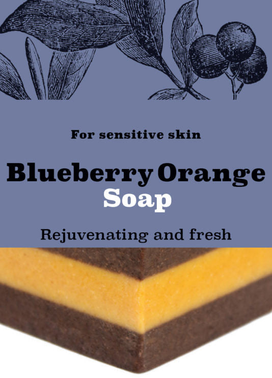 Soap - Blueberry Orange Soap