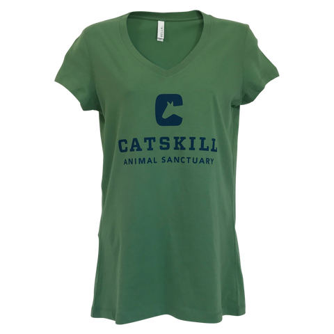 T-Shirt Women's Logo Shirt Green