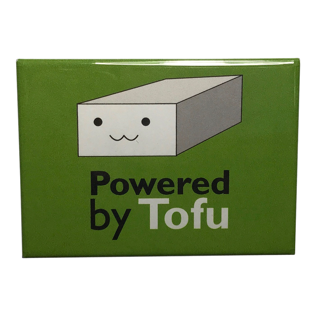 Powered By Tofu Magnet