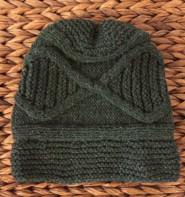 Hat - Hand-Knit by High in Fiber