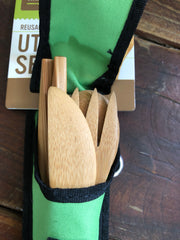Travel Cutlery Set - Reusable Utensils