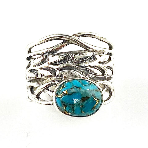 https://kejadesigns.com/collections/sterling-silver-rings/products/blue-copper-turquoise-sterling-silver-twisted-vine-ring