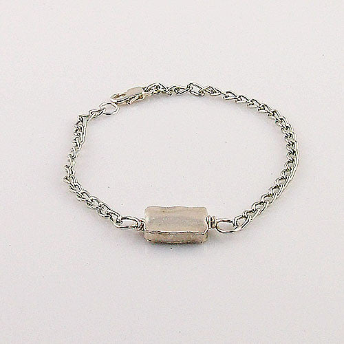 Rectangle - Elements - Fine SIlver Bracelet - keja jewelry - Keja Designs Jewelry