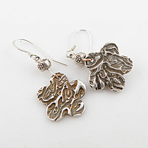 Coral Floral Earrings - Keja Designs Jewelry