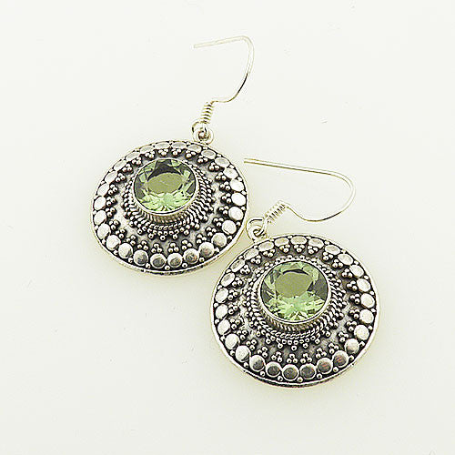 Alexandrite Sterling Silver Earrings - Keja Designs Jewelry