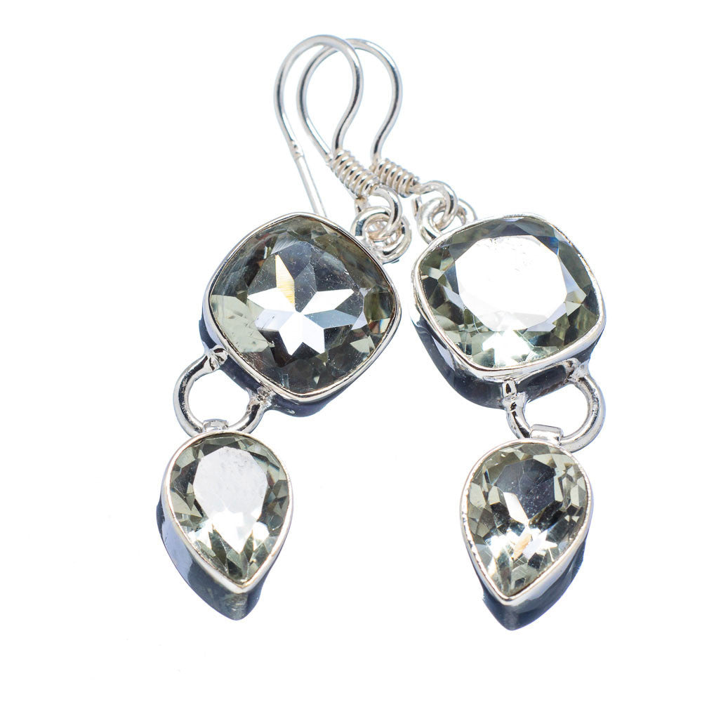 Praisiolite Sterling Silver Earrings - Keja Designs Jewelry