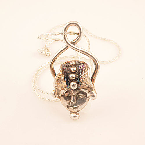 Infinite Goddess Pure Silver Pendant - Keja Designs Jewelry