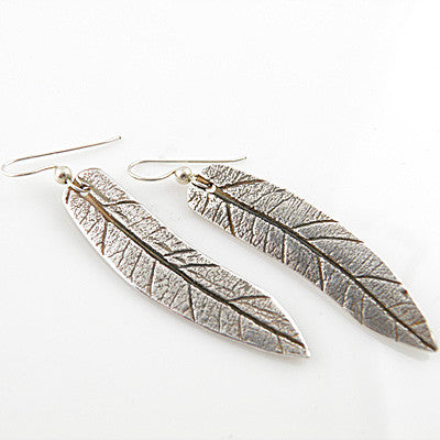 Leaf Earrings - Keja Designs Jewelry