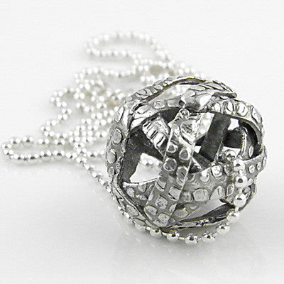 Open Sphere Pendant - Keja Designs Jewelry