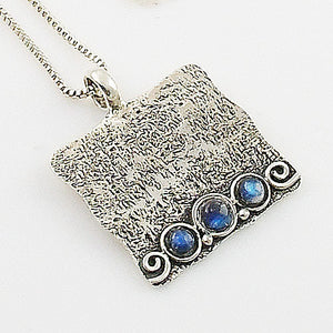 Moonstone Sterling Silver Whimsical Pendant - Keja Designs Jewelry