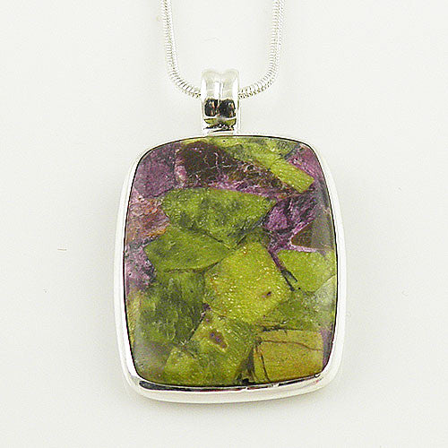 Atlantisite Sterling Silver Pendant - Keja Designs Jewelry