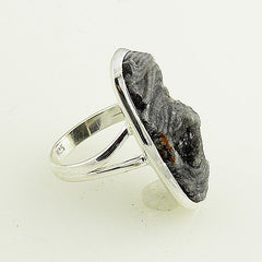Agate Drusy Sterling Silver Ring - Keja Designs Jewelry