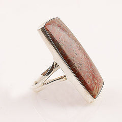 Dinosaur Bone Sterling Silver Statement Ring - Keja Designs Jewelry