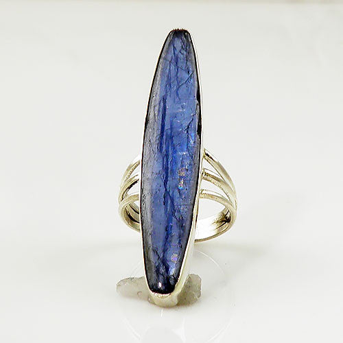 Kyanite Sterling Silver Ring - keja Jewelry - Keja Designs Jewelry