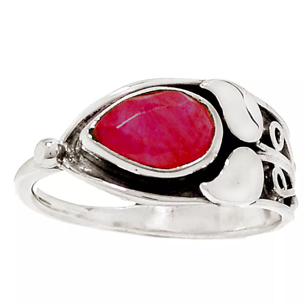 Ruby Sterling Silver Ring - Keja Designs Jewelry