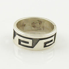 Sterling Silver Wave Band Ring - Keja Designs Jewelry
