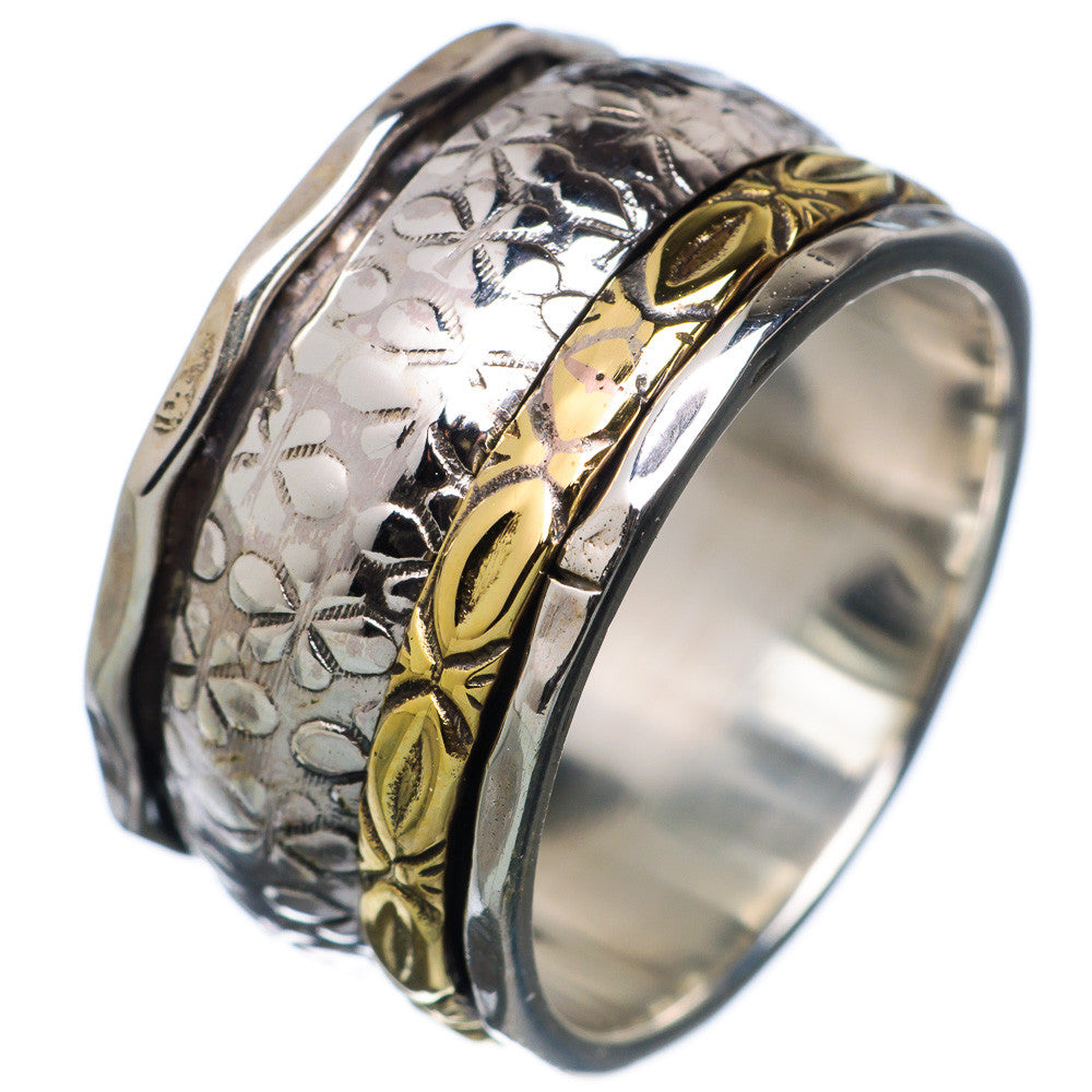 Spinner Ring -  Two Tone Big & Small Spinners - Keja Designs Jewelry