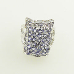 Tanzanite Sterling Silver Ring - keja jewelry - Keja Designs Jewelry
