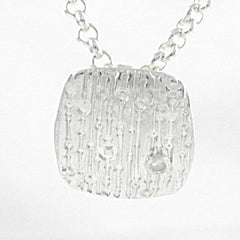 Stripes & Bubbles Pendant - Keja Designs Jewelry