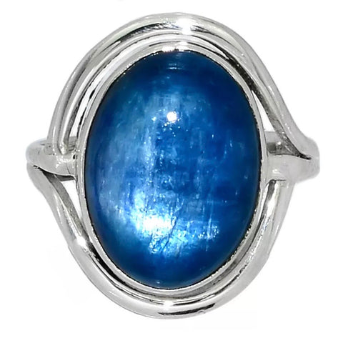 Kyanite Sterling Silver Lucky Ring