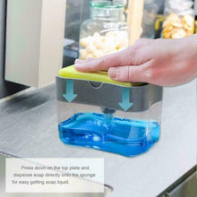 Load image into Gallery viewer, 2 in 1 Soap Dispenser