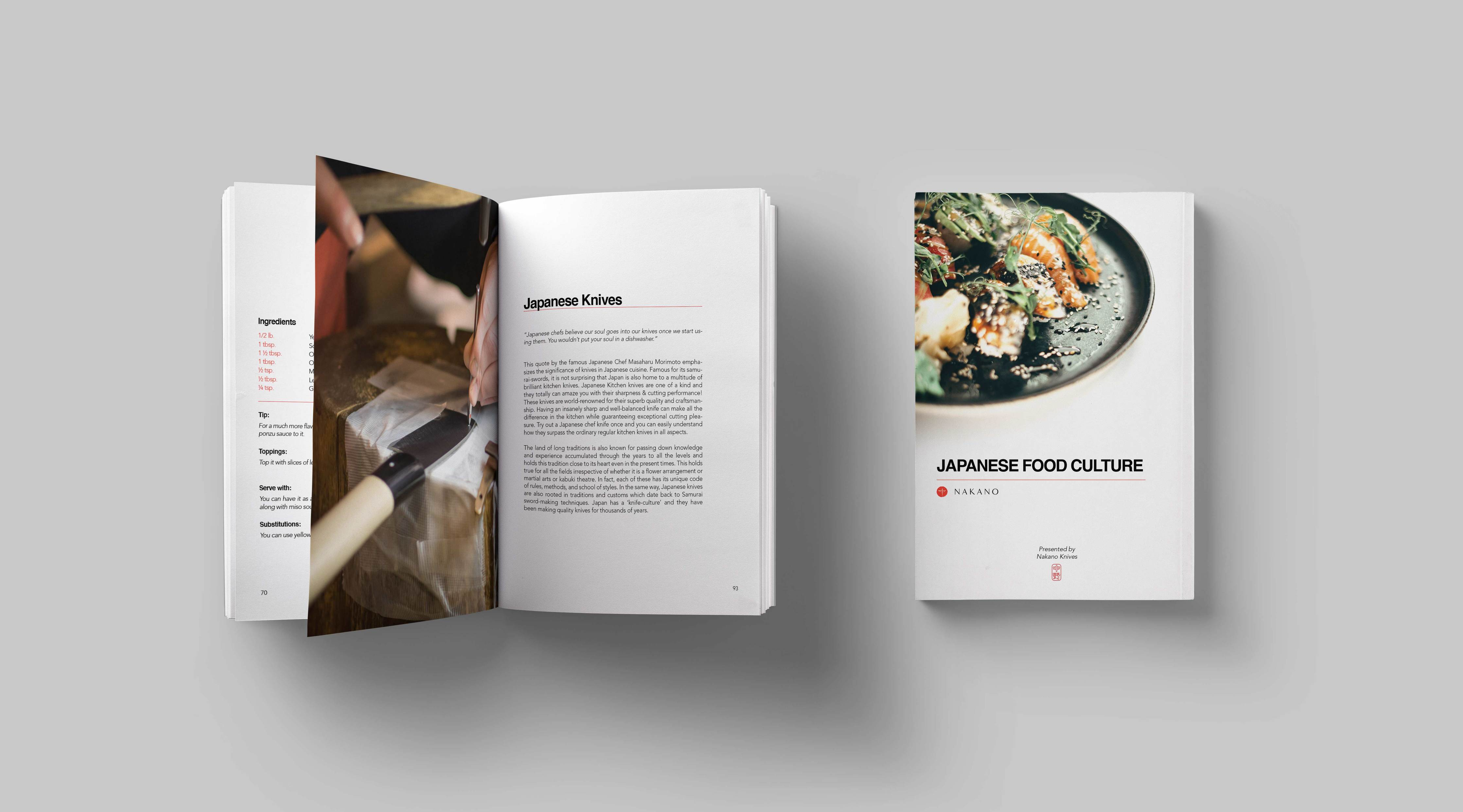 Japanese Food Culture Book Hardcover