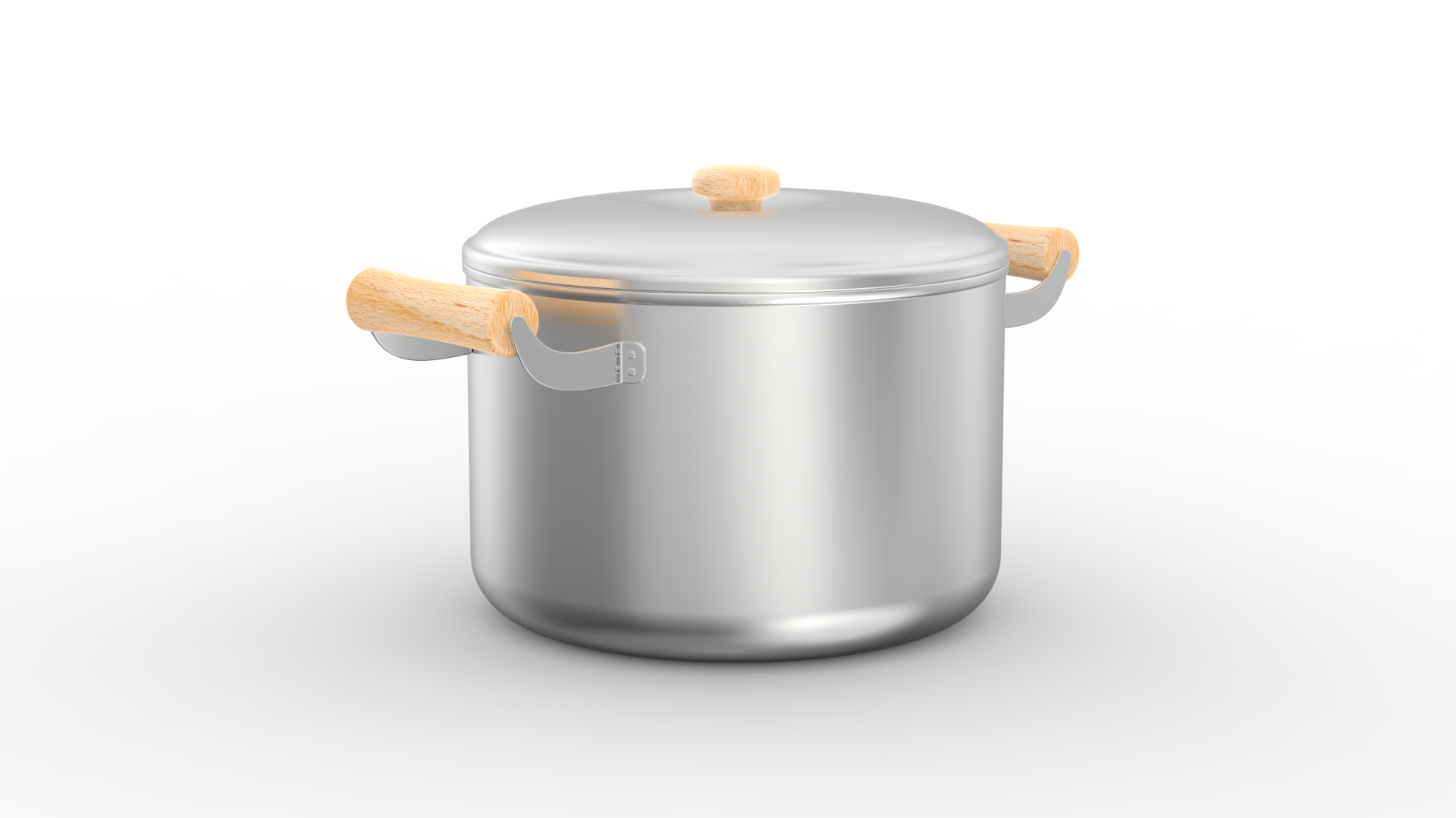 Nakano Stainless Steel Pot 8.3 Inch