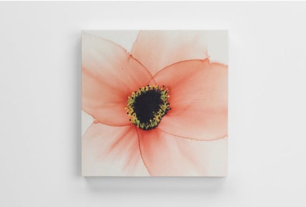 Canvas Print - Coral Flower