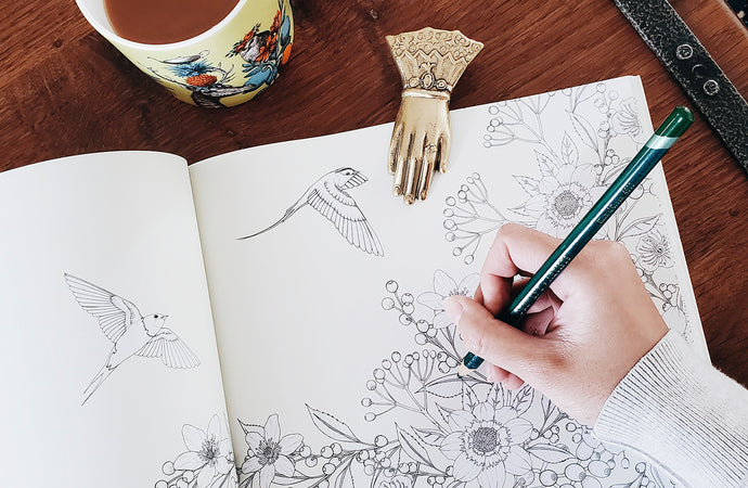 The #1 Mindfulness Trend in 2020: Adult Coloring Books