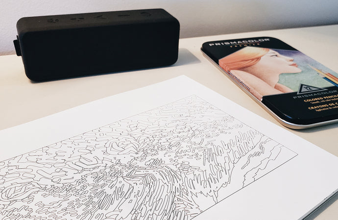 Productive Coloring: 6 Podcasts to Listen to While You Color
